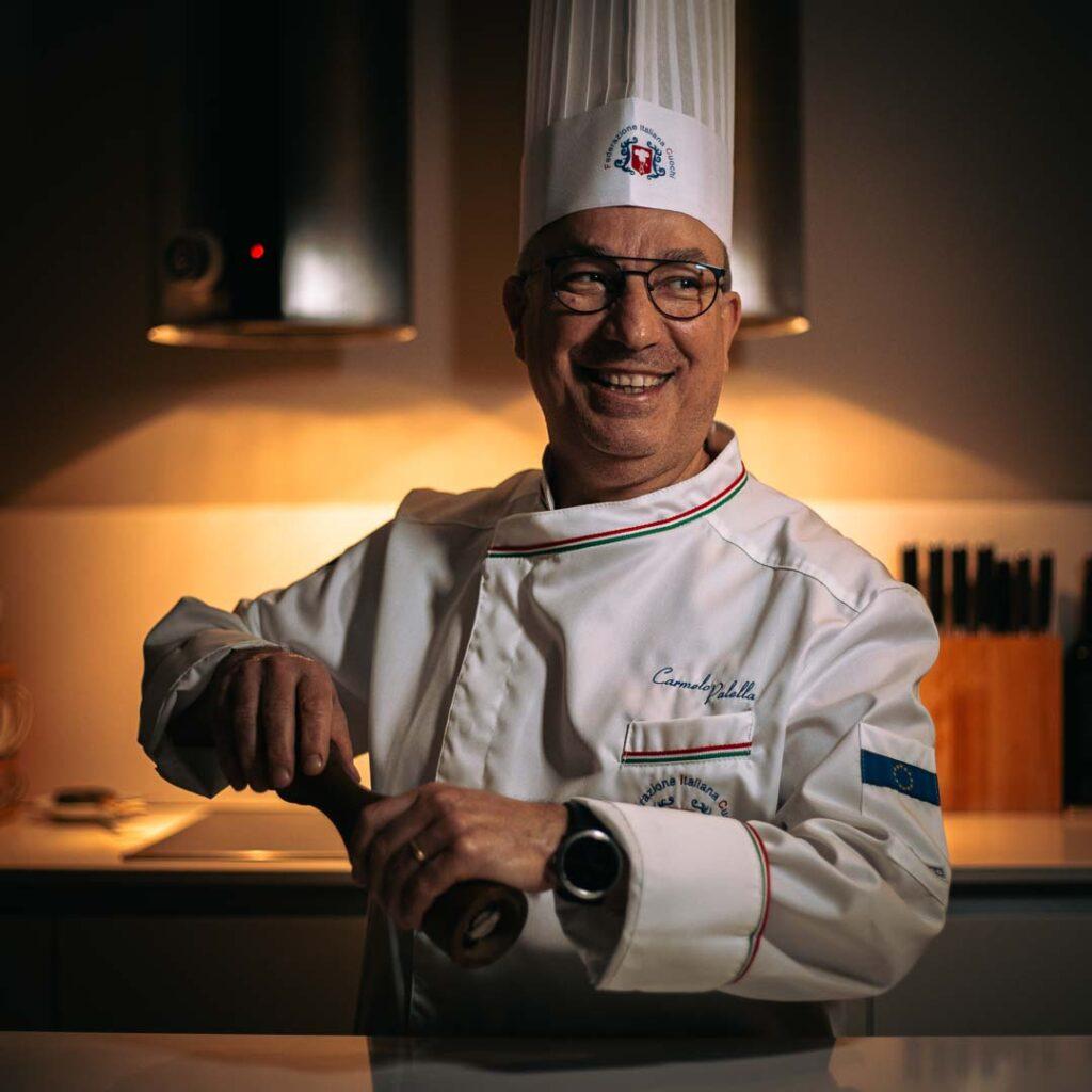 Chef Carmelo Palella Ristorante Firenze