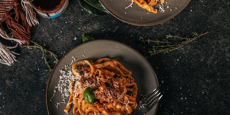 spaghetti bolognaise food fotografie op mijn talloor