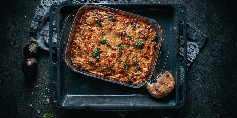 Moussaka food fotografie op mijn talloor