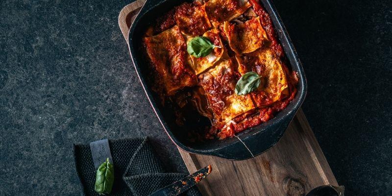 Lasagna parmigiana Food Fotografie Op Mijn Talloor
