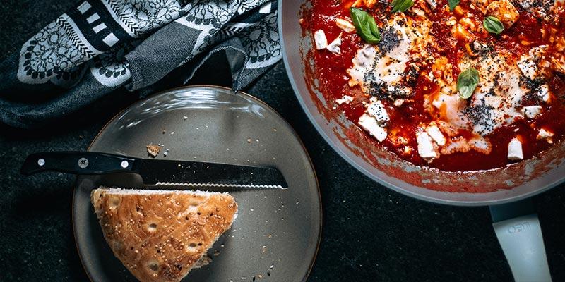 shakshuka food fotografie op mijn talloor
