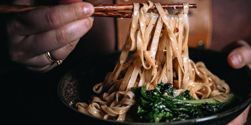 Dan Dan Noedels Food Fotografie Op Mijn Talloor