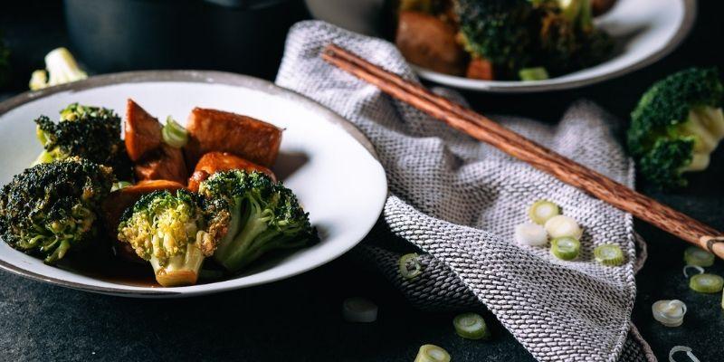 Kip teriyaki Food Fotografie Op Mijn Talloor