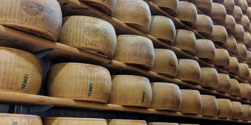 Parmezaanse kaas Reistips Emilia-Romagna