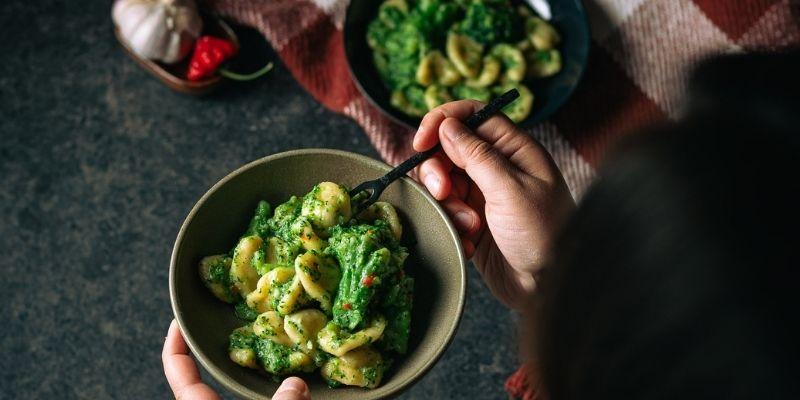 Orecchiette alla Pugliese Italiaanse Kookworkshops en Food Fotografie Op Mijn Talloor
